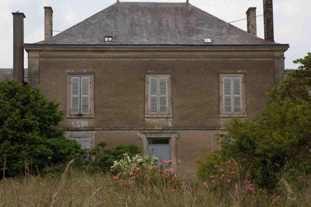 rear facade before